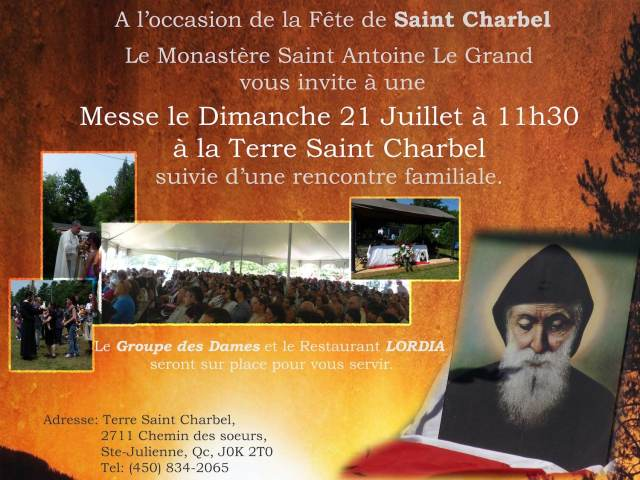 St Charbel 2013
